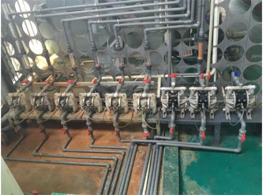 漳州利德宝电子有限公司油墨废水处理