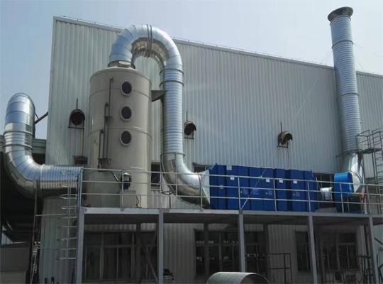 18luck新利体育宇龙机械有限公司喷漆废气处理